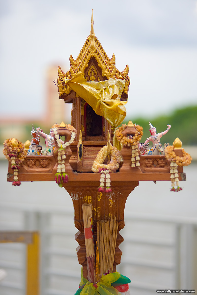 Spirit House Superstitious Belief Animism - Bangkok, Thailand - Daily Travel Photos