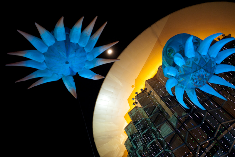 Flying Fantasy Sea Anemone Balloons Paragon - Bangkok, Thailand - Daily Travel Photos