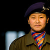 photo: Female Sikkimese Police - An early morning photo of a nice young lady serving in Sikkim's police force (ARCHIVED PHOTO on the weekends - originally photographed 2008/01/12).